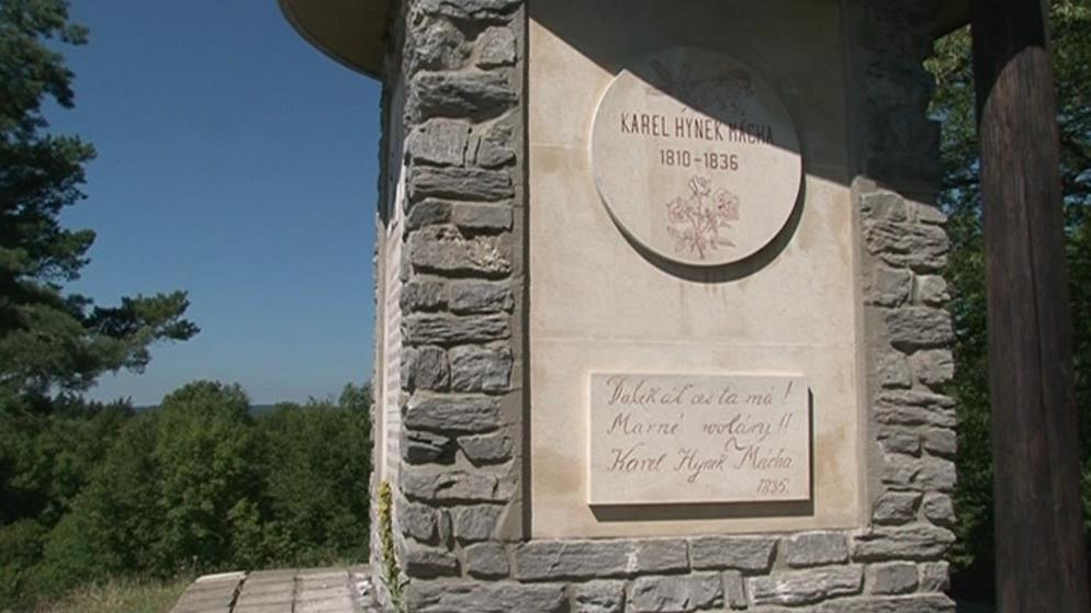Památník K. H. Máchy v Lesnickém slavíně