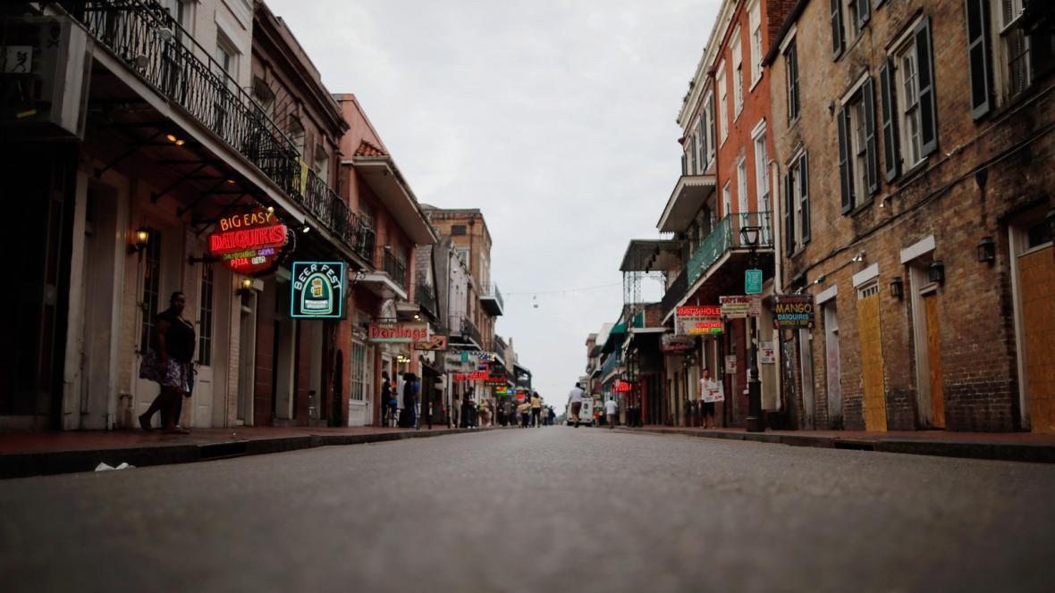 New Orleans se připravuje na bouři Isaac