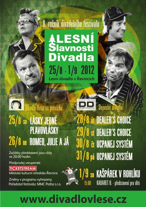 Lesní Slavnosti Divadla / plakát