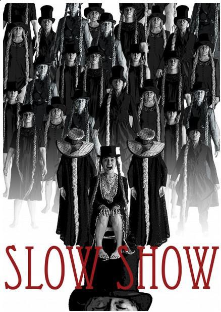Kabaret Slow Show / poutač