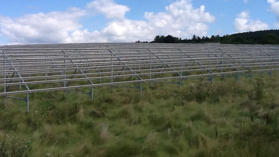 Fotovoltaická elektrárna bez solárních panelů