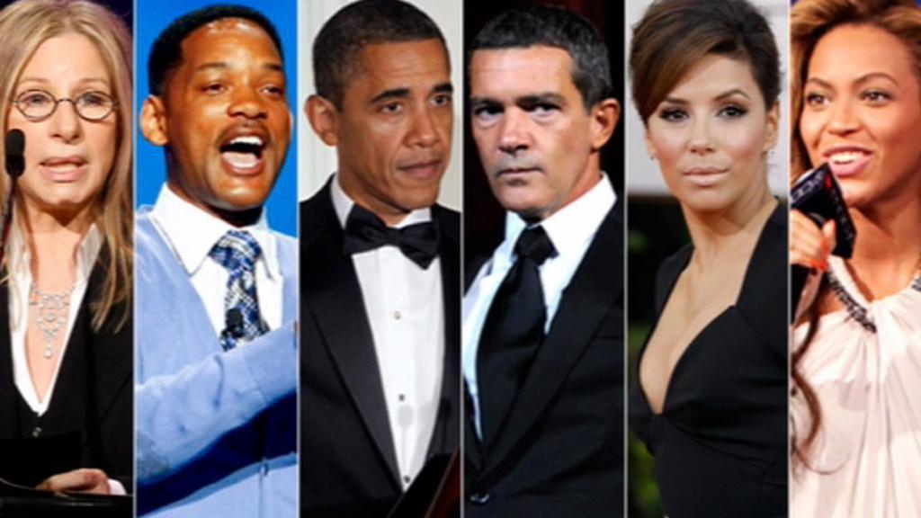 Hollywood pomáhá Obamovi