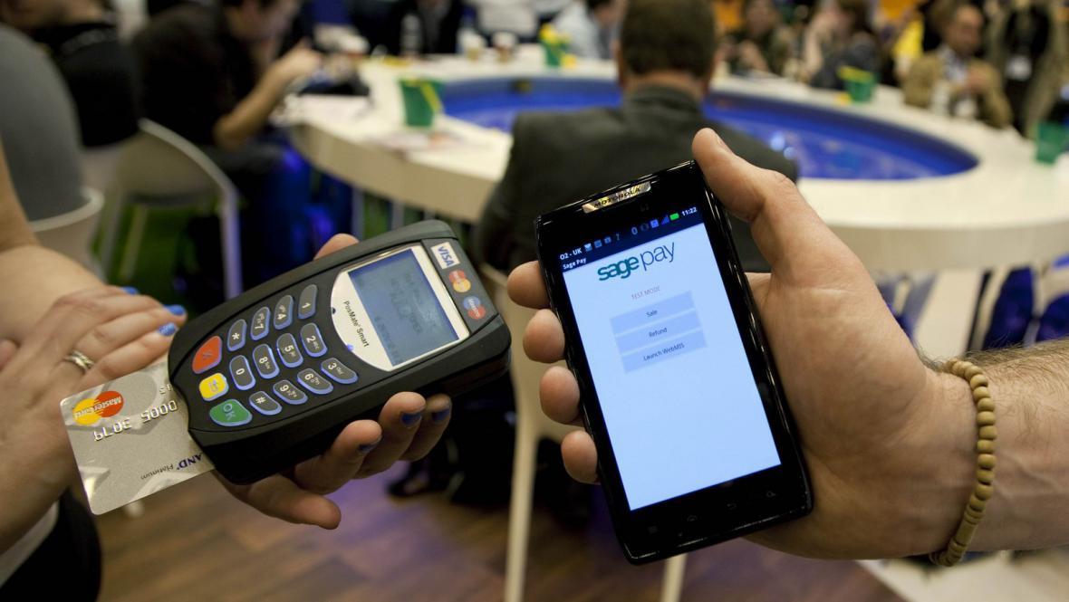 Mobilní placení u obchodníka
