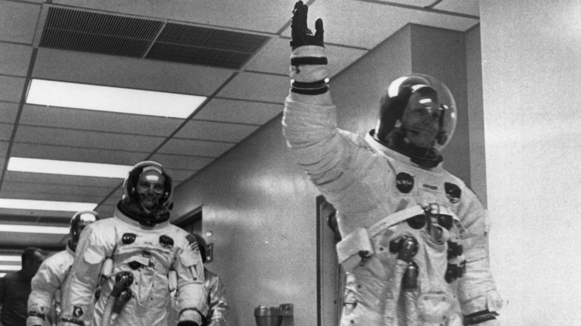 Apollo 11: Neil Armstrong a Michael Collins