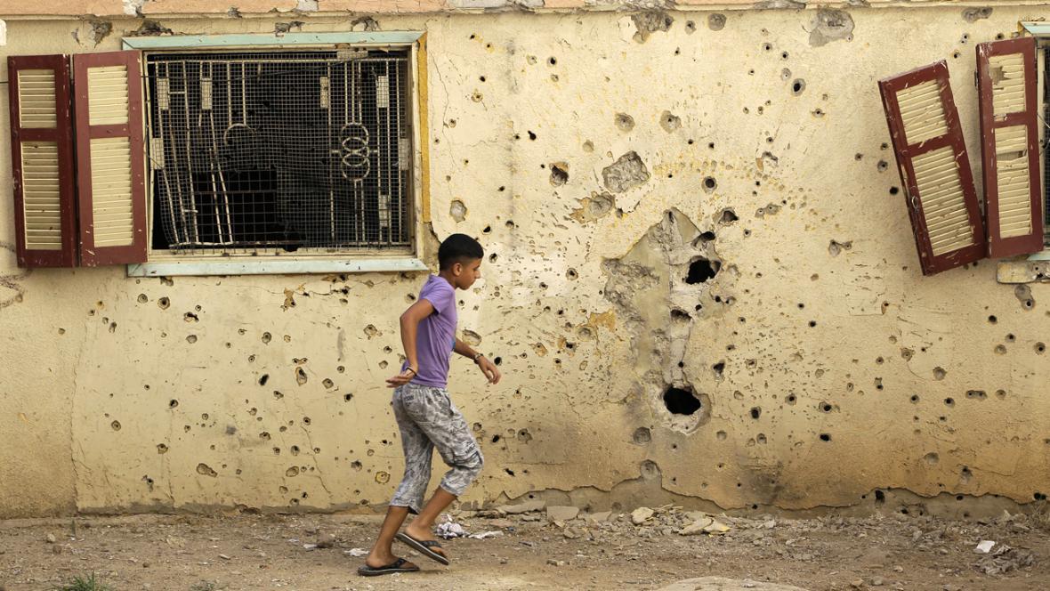 Boje na hranicích Sýrie a Libanonu