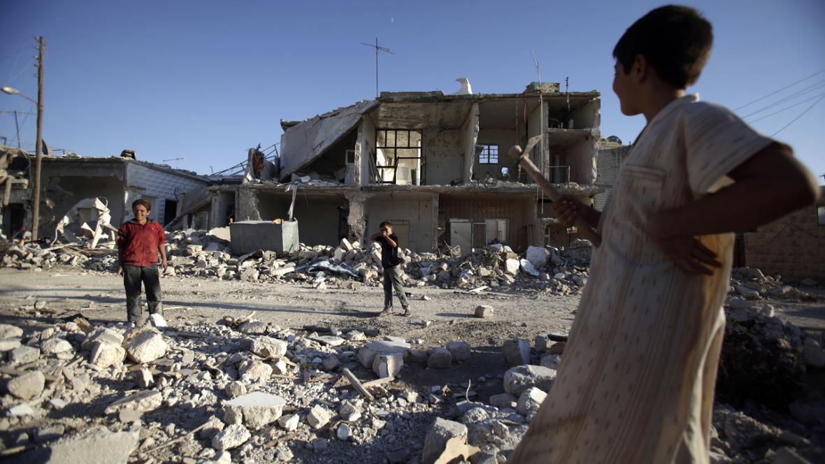 Katastrofická situace v Sýrii