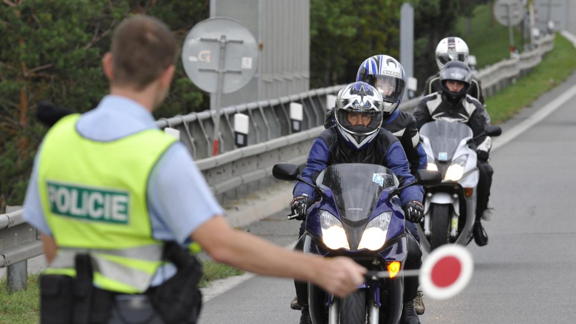 Policejní kontroly na VC Brna