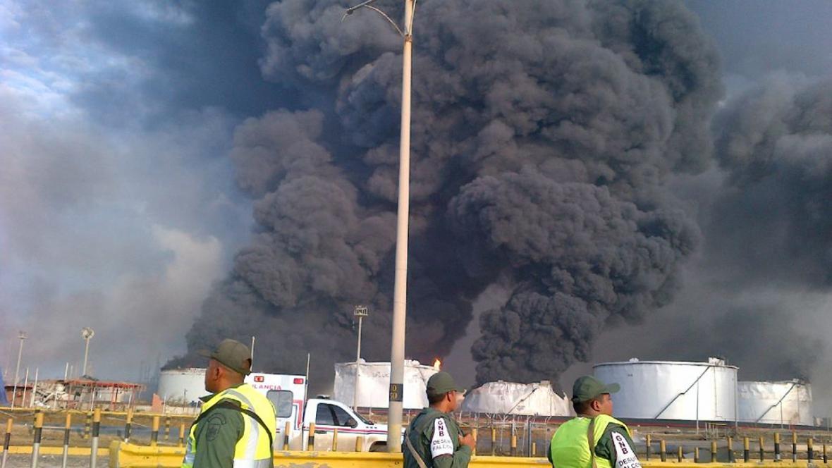 Venezuela - exploze plynu