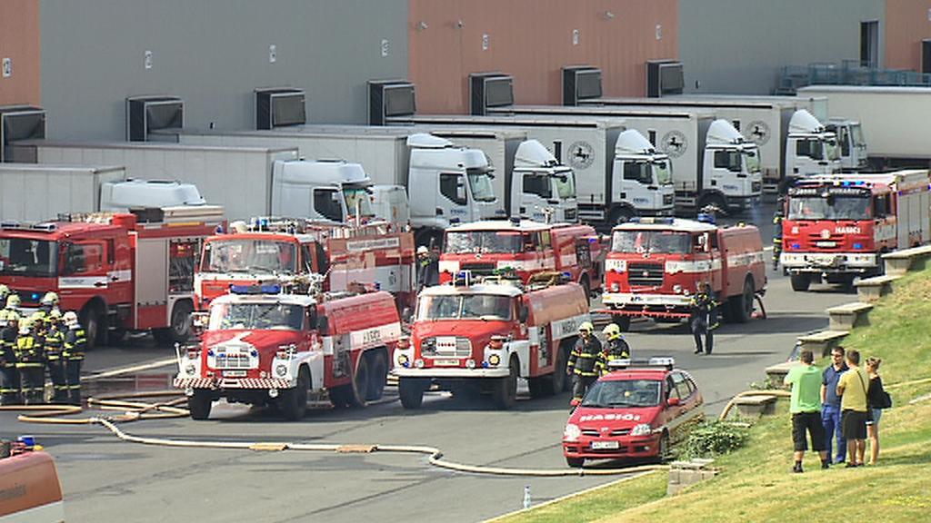 Požár v Kunicích