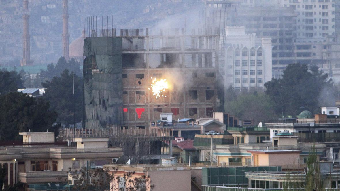 Boje v Kábulu