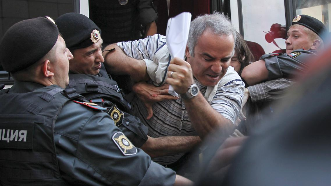 Zadržení Garryho Kasparova