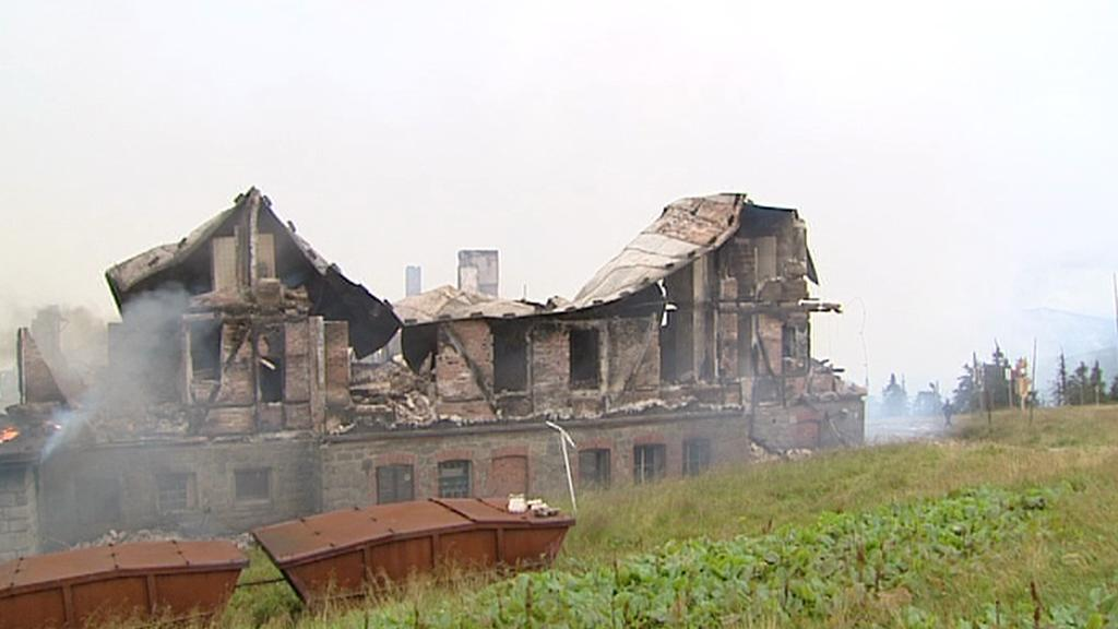 Požár Petrovy boudy
