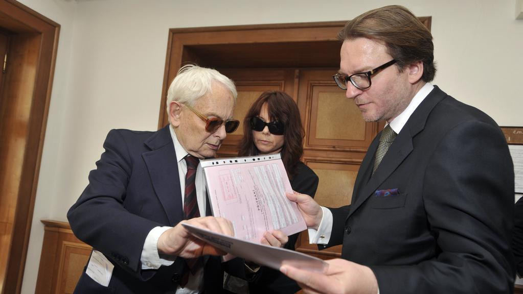 Rathův otec Ratmír čeká na rozhodnutí soudu