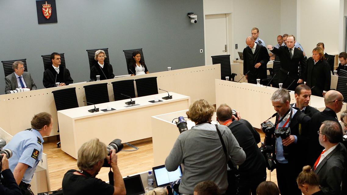 Vynesení rozsudku nad Andersem Breivikem