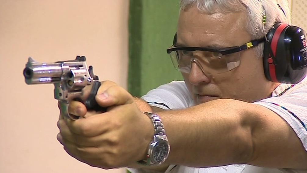 Střelba z pistole se pro Čechy stává relaxací