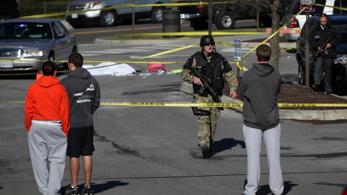 Střelba na virginské univerzitě