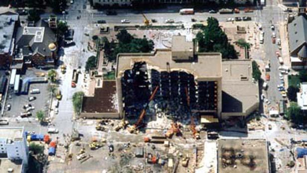 Výbuch v Oklahoma City v roce 1995