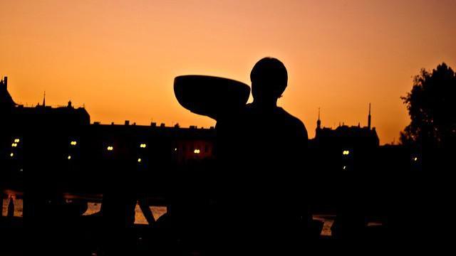 Čajomír Fest / svítání