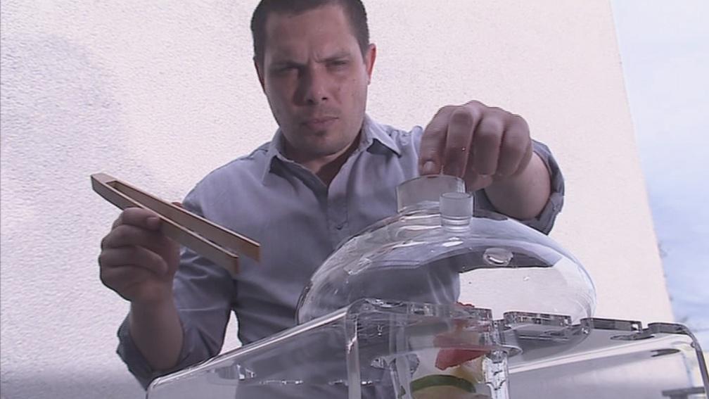 Míchání koktejlu pro vodní dýmku