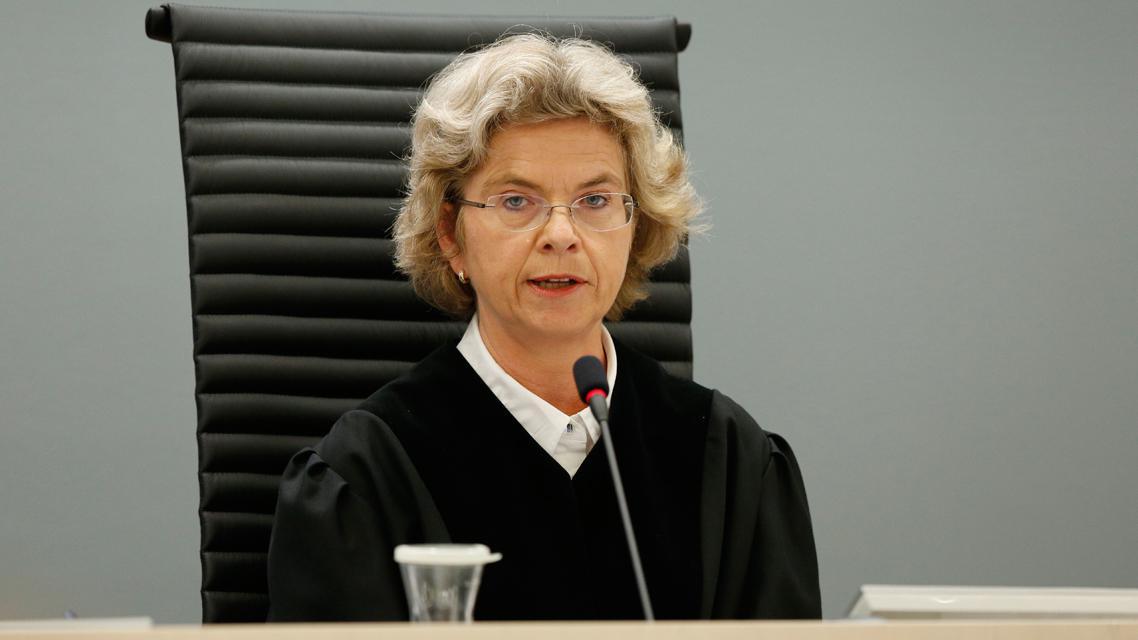 Předsedkyně senátu Wenche Arntzenová