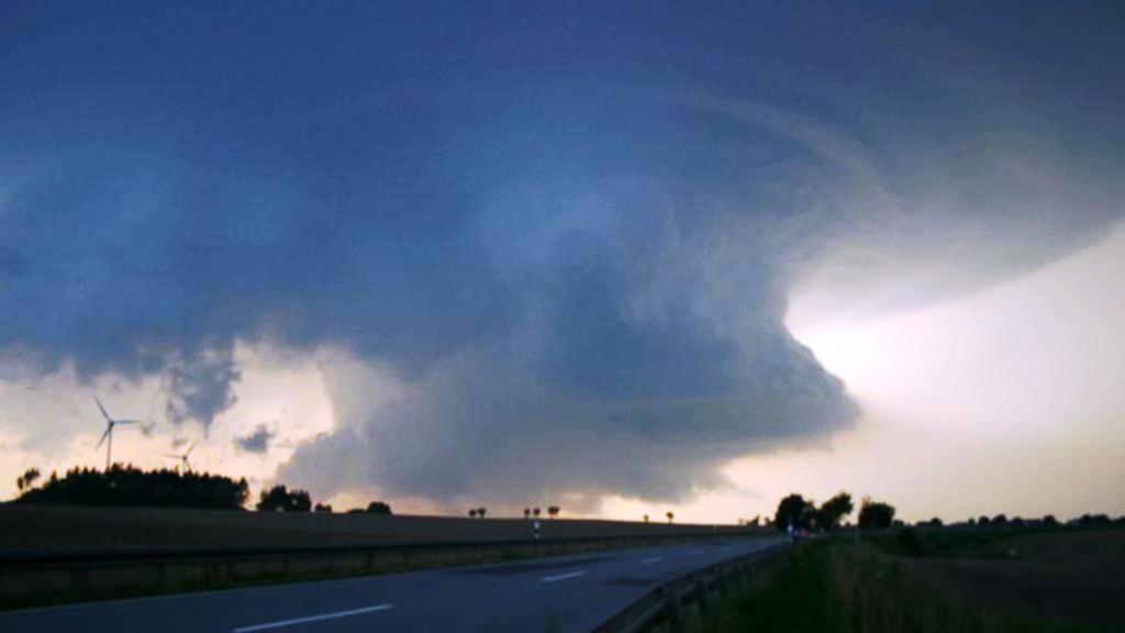 Bouře, nebo supercela?