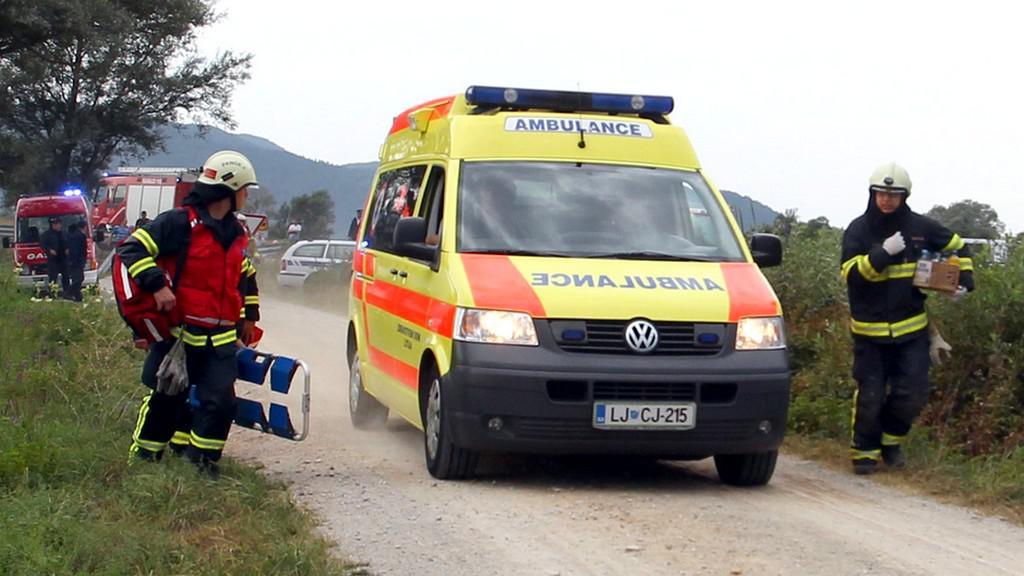 Nehoda balonu ve Slovinsku