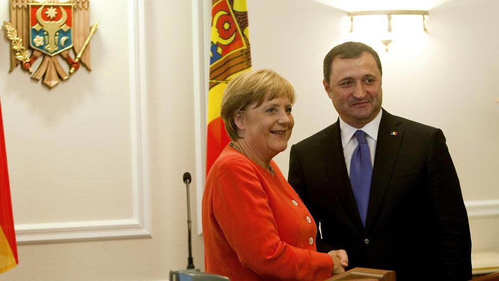 Angela Merkelová v Moldavsku