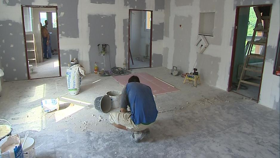 Stavební práce by měly skončit v polovině září
