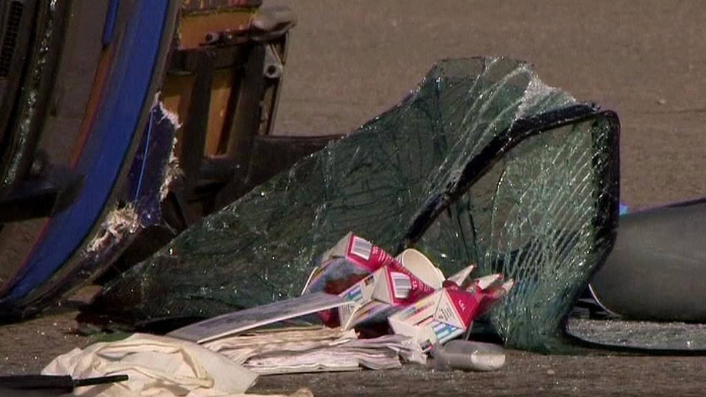 Nehoda autobusu v Bavorsku