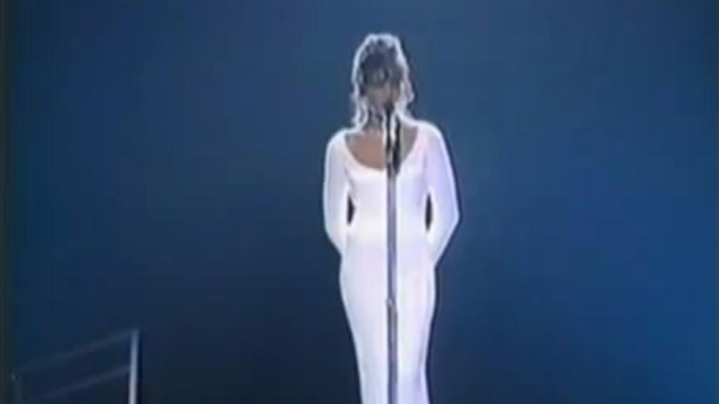 Whitney Houstonová - Grammy 1994