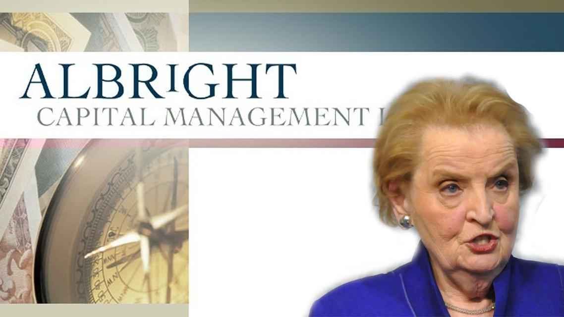 Madeleine Albrightová a její firma Albright Capital Management