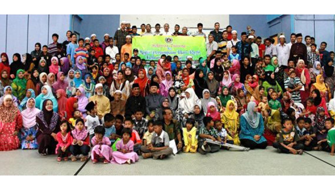 V Malajsii se sešla 700členná rodina