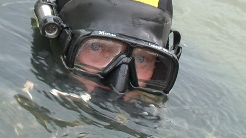 Policejní potápěč