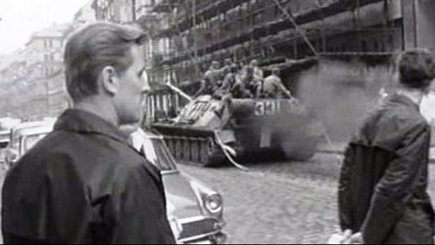 Tanky v Praze v srpnu 1968