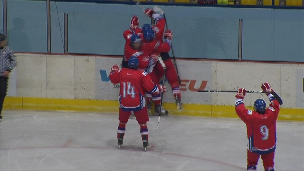 Radost z rozhodujícího gólu proti Rusku
