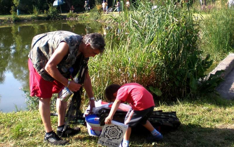 Rybářské závody ve Vojnicích