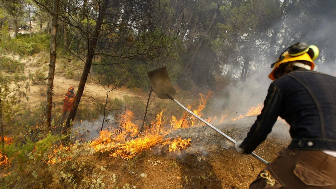Požár u Alicante