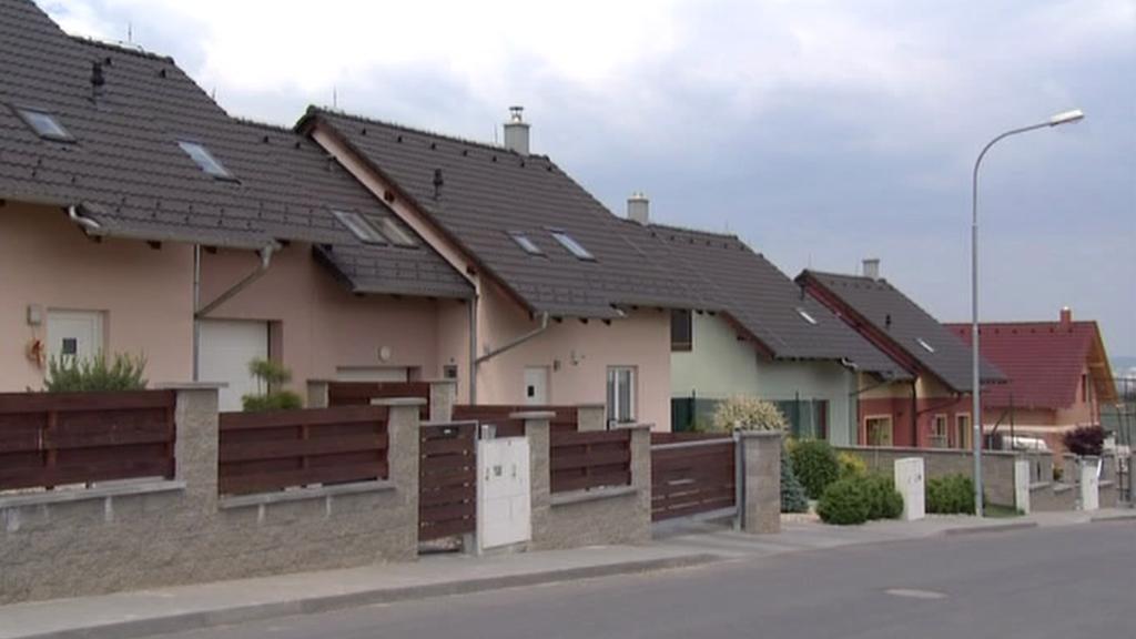 Rodinné domy v Moravanech