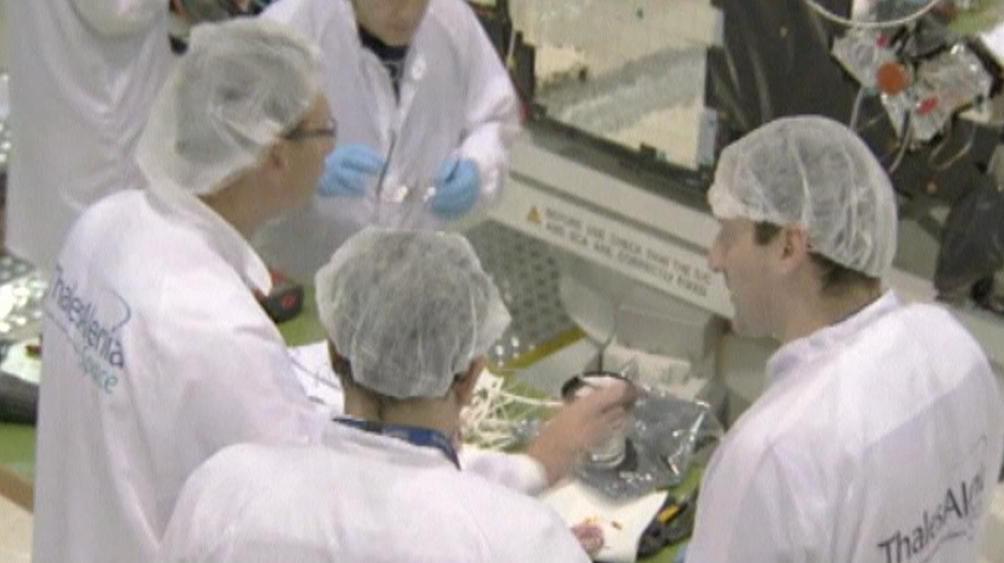 Zaměstnanci projektu Galileo