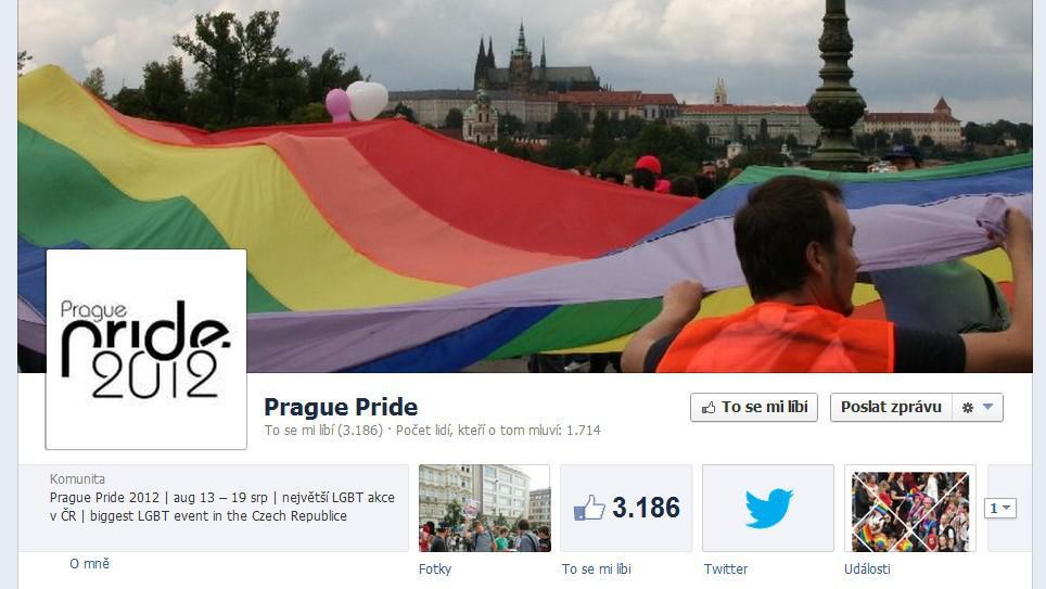 Facebookový profil festivalu Prague Pride