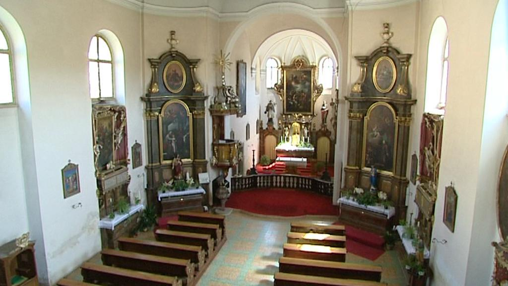 Kaple na zámku v Manětíně