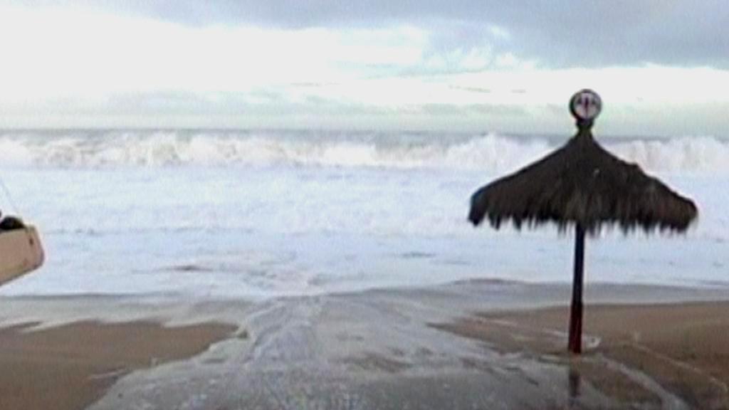 Pobřeží Chile zasáhlo silné vlnobití