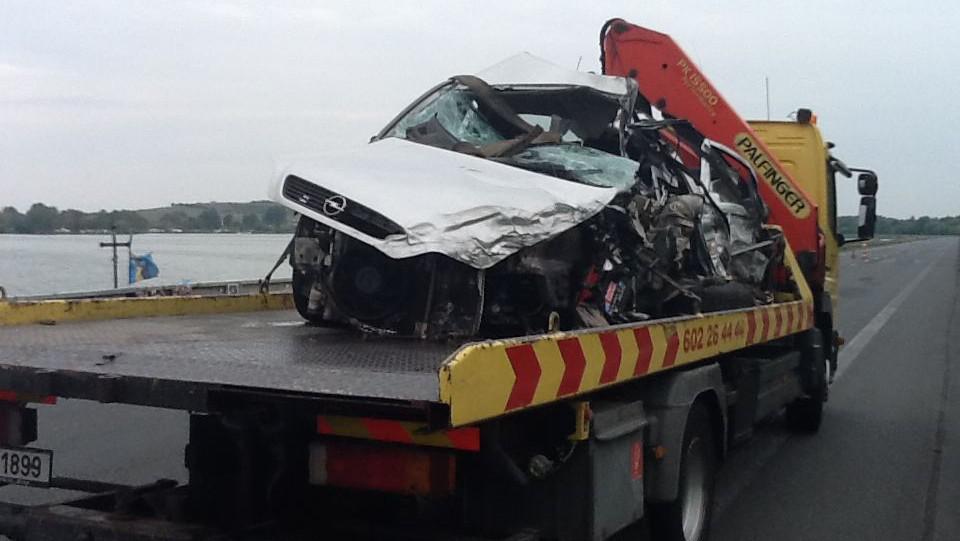 Při nehodě zemřel dvaapadesátiletý řidič