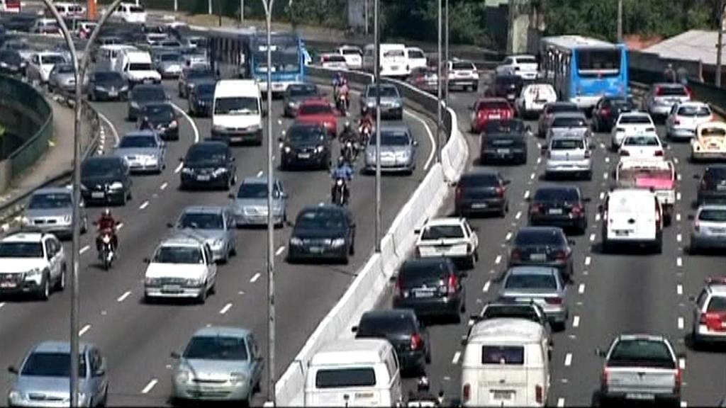 Brazilská dálnice