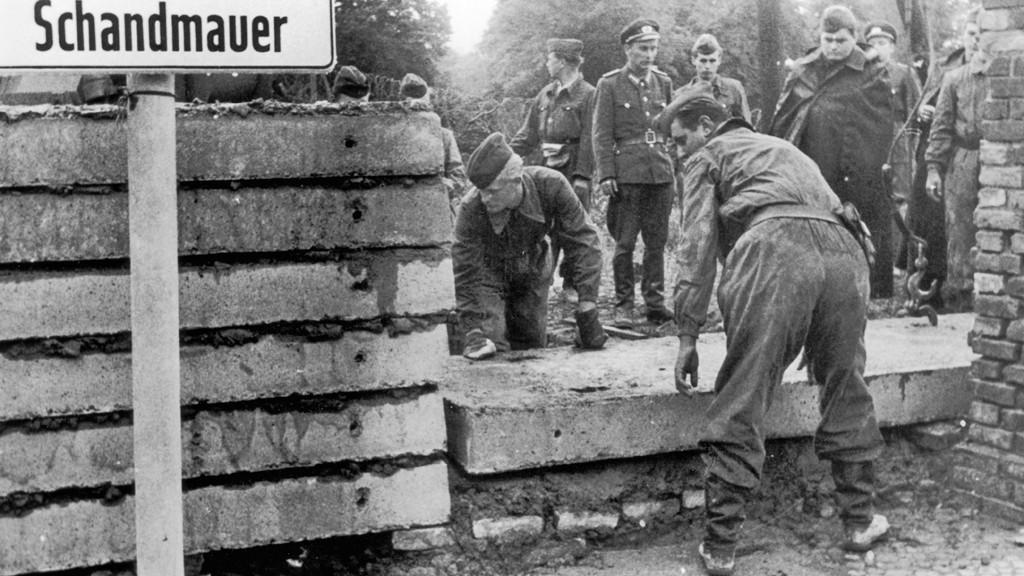 Stavba Berlinské zdi