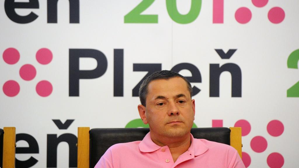 Ředitel městské společnosti Plzeň 2015 Tomáš Froyda