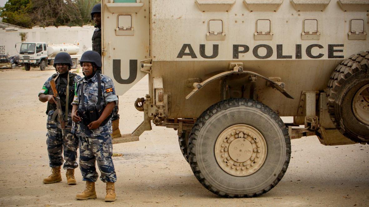 Vojáci Africké unie