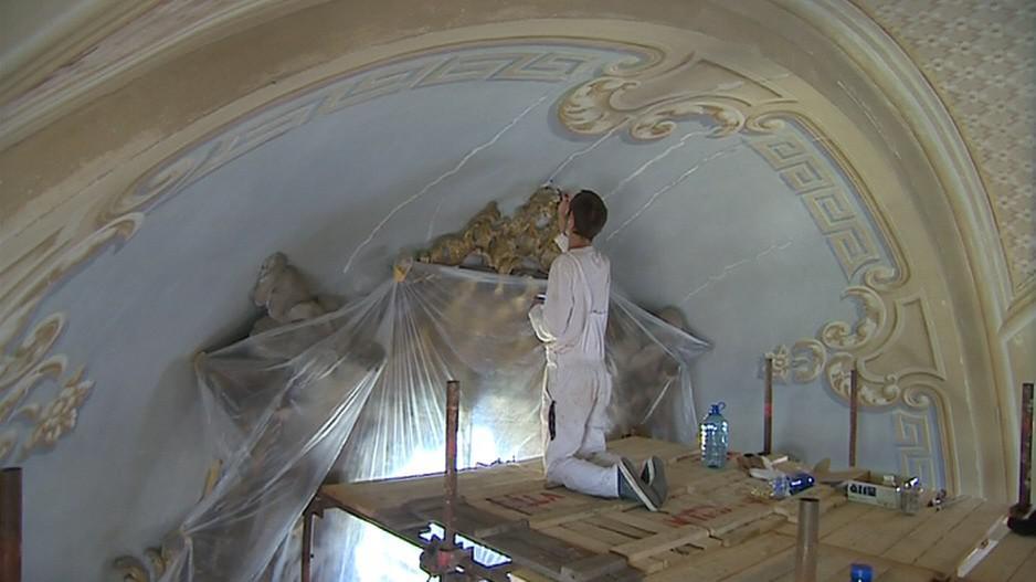 Historické malby se dočkají nového nátěru