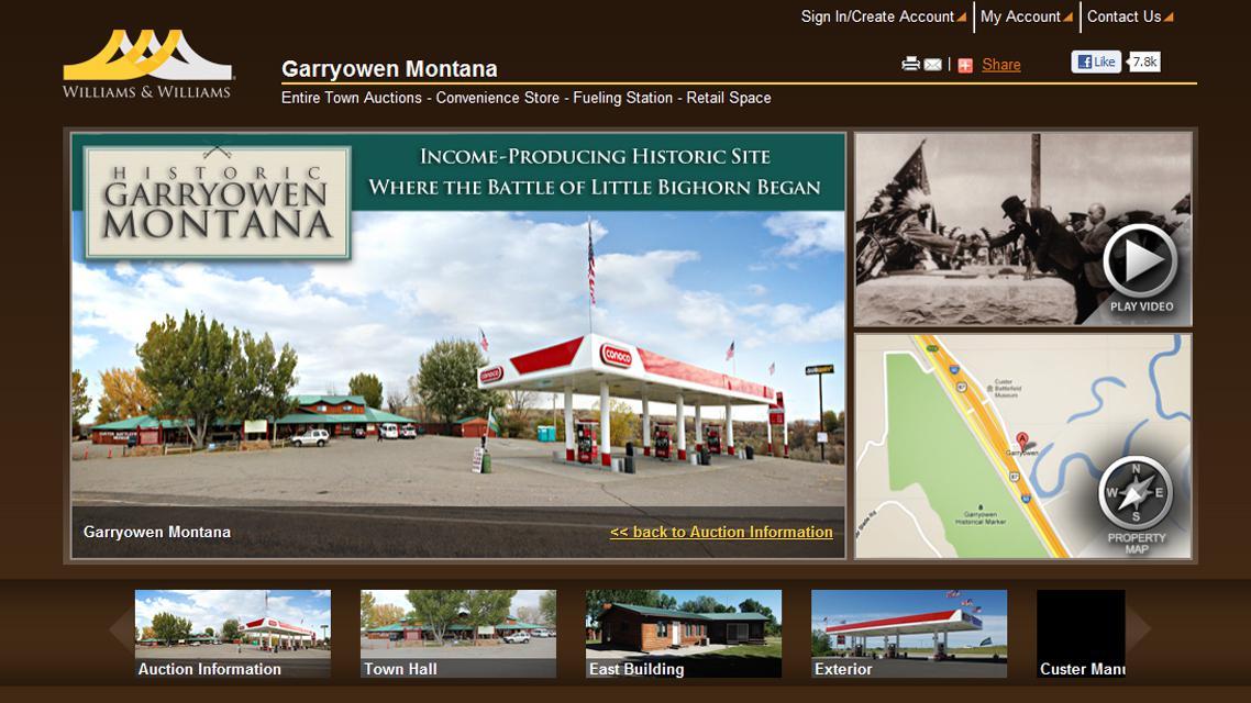 Aukce městečka Garryowen