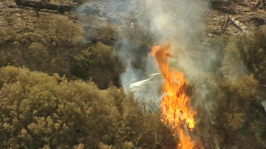 Požár na La Gomeře